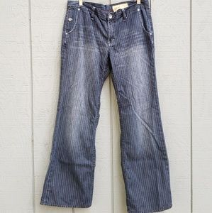 Gap Limited Editon Pinstriped Cotton jeans